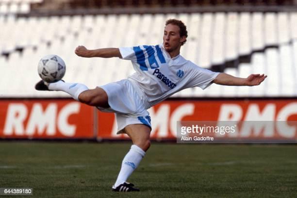 Jean Pierre Papin saison 1991/1992 Marseille Photo Alain Gadoffre / Icon Sport