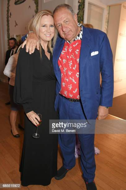 Jean Pigozzi attends The 9th Annual Filmmakers Dinner hosted by Charles Finch and JaegerLeCoultre at Hotel du CapEdenRoc on May 19 2017 in Cap...