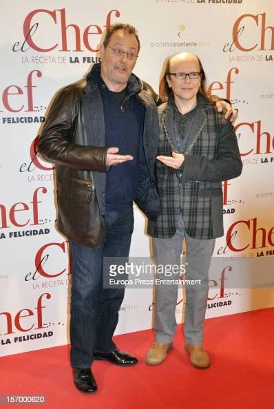¿Cuánto mide Jean Reno? - Altura - Real height Jean-reno-and-santiago-segura-attend-el-chef-la-receta-de-la-on-26-picture-id157000620?s=594x594