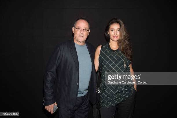 Jean Reno and Zofia Reno attend the Lanvin show as part of the Paris Fashion Week Womenswear Spring/Summer 2018 at on September 27 2017 in Paris...