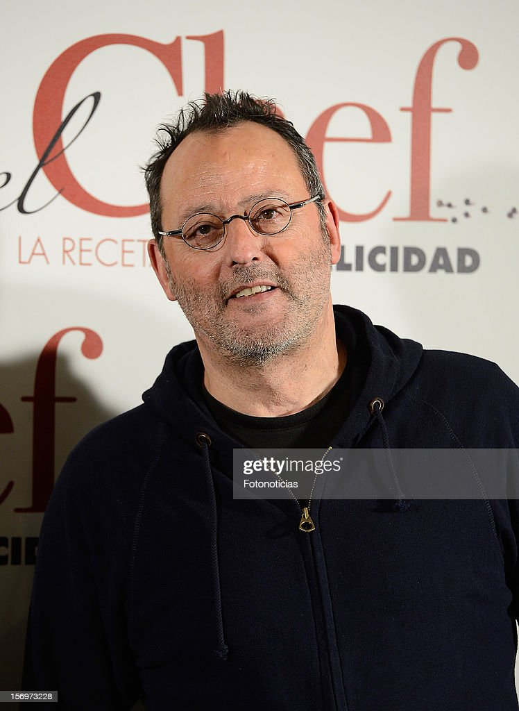 Jean Reno attends a photocall for 'El Chef, La Receta de la Felicidad' (Comme Un Chef) at The Intercontinental Hotel on November 26, 2012 in Madrid, Spain.