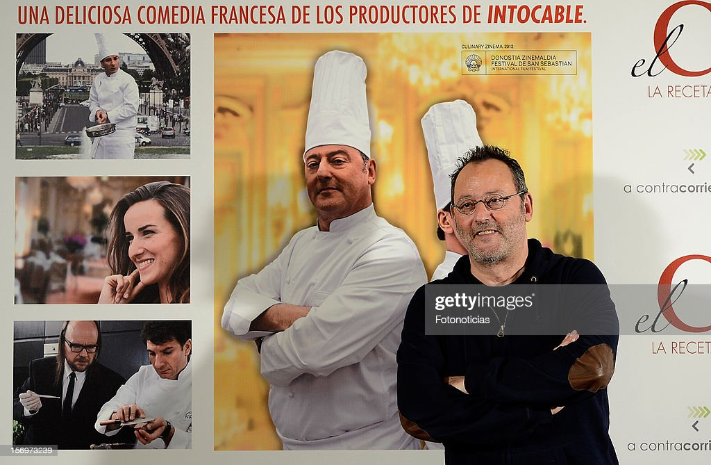 <a gi-track='captionPersonalityLinkClicked' href=/galleries/search?phrase=Jean+Reno&family=editorial&specificpeople=213522 ng-click='$event.stopPropagation()'>Jean Reno</a> attends a photocall for 'El Chef, La Receta de la Felicidad' (Comme Un Chef) at The Intercontinental Hotel on November 26, 2012 in Madrid, Spain.