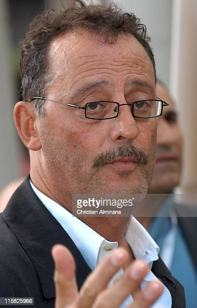 Jean Reno during 2005 Cannes Fim Festival 'Flyboys' Photocall at Hotel Martinez in Cannes France
