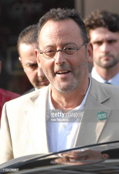 Jean Reno during 2006 Cannes Film Festival The Cast of 'The Da Vinci Code' Arrives in Cannes May 16 2006 at Cannes Train Station in Cannes France