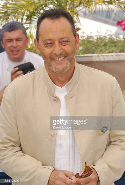 Jean Reno during 2006 Cannes Film Festival 'The Da Vinci Code' Photo Call at Palais du Festival in Cannes France