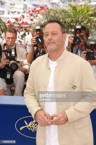 Jean Reno during 'Da Vinci Code' Cannes press call at Palais des Festivals Cannes in Cannes France