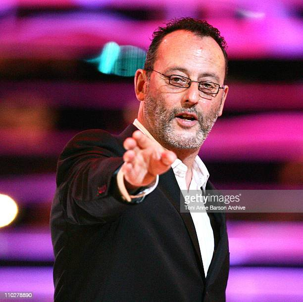 Jean Reno during Miss France 2006 Pageant at Palais des Festivals in Cannes France