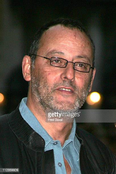 Jean Reno during 'Revolver' London Premiere Arrivals at Odeon Leicester Square in London Great Britain
