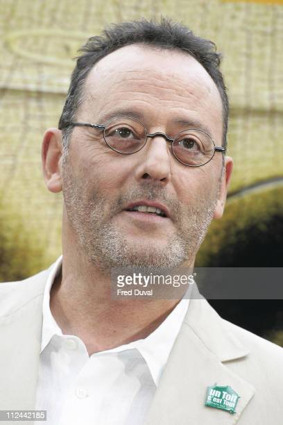 Jean Reno during 'The Da Vinci Code' Cast Name Eurostar Train May 16 2006 at Waterloo Station in London United Kingdom