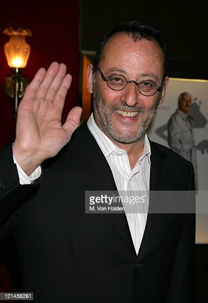 Jean Reno during 'The Pink Panther' New York City Premiere at Ziegfeld Theatre in New York City New York United States