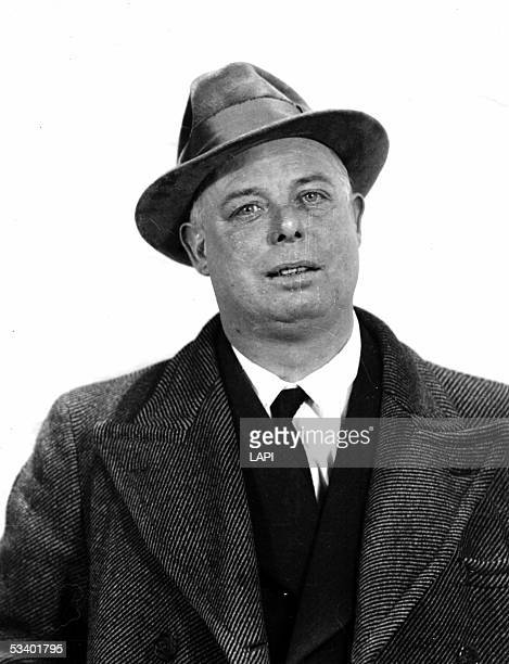 Jean Renoir French filmmaker in 1942 LAPI7140