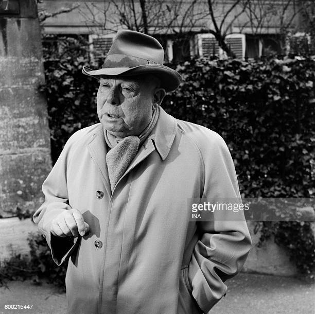Jean Renoir on the shooting of the program 'Our friend Jacques Becker'