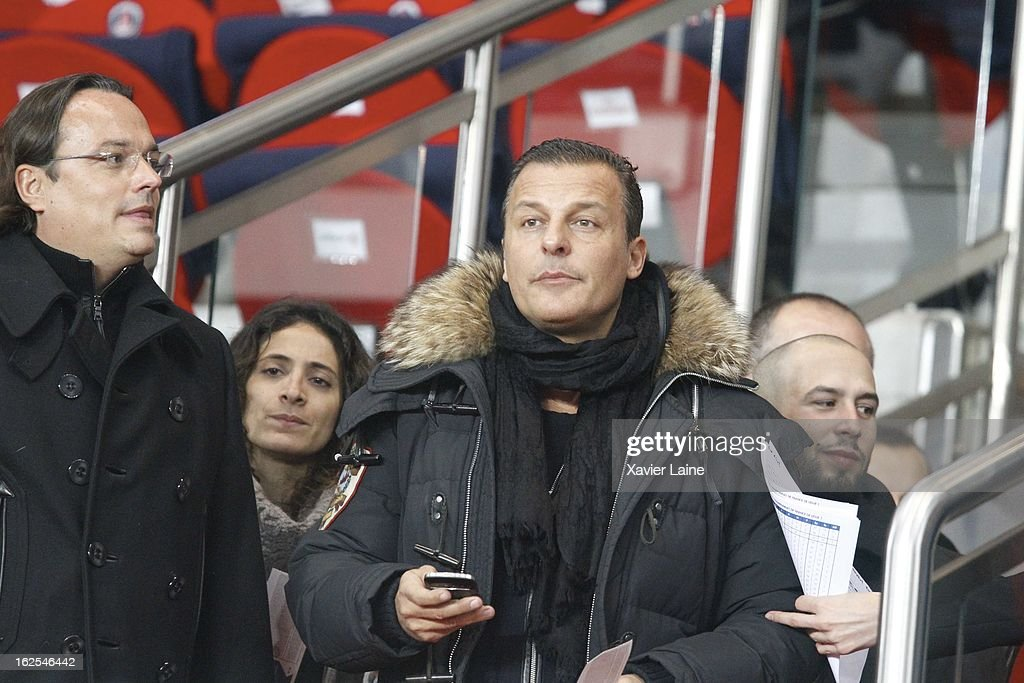 <a gi-track='captionPersonalityLinkClicked' href=/galleries/search?phrase=Jean+Roch&family=editorial&specificpeople=2220196 ng-click='$event.stopPropagation()'>Jean Roch</a> attends before the French League 1 between Paris Saint-Germain FC and Marseille Olympic OM, at Parc des Princes on February 24, 2013 in Paris, France.