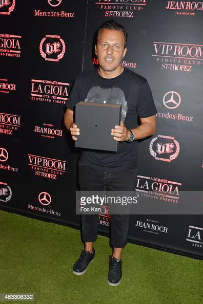 Jean Roch Pedri attends the Cedric Gervais DJ Set Party at the VIP Room Saint Tropez on August 6 2015 in SaintTropez France