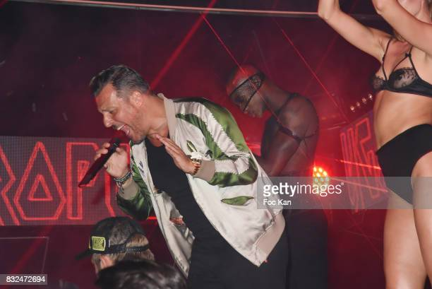Jean Roch Pedri attends the Tyga Party at VIP Room as part of SaintTropez Party On French Riviera on August 15 2017 in SaintTropez France