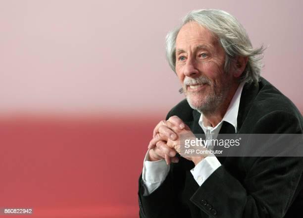 Jean Rochefort président de la cérémonie des César qui seront décernés le 22 février 2008 au théâtre du Châtelet à Paris participe à l'émission de...