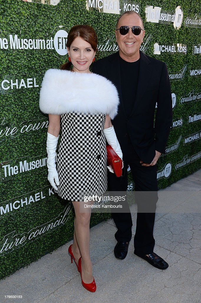 Jean Shafiroff (L) and designer Michael Kors attend The Couture Council of The Museum at the Fashion Institute of Technology hosted luncheon honoring Michael Kors with the 2013 Couture Council Award on September 4, 2013 in New York City.