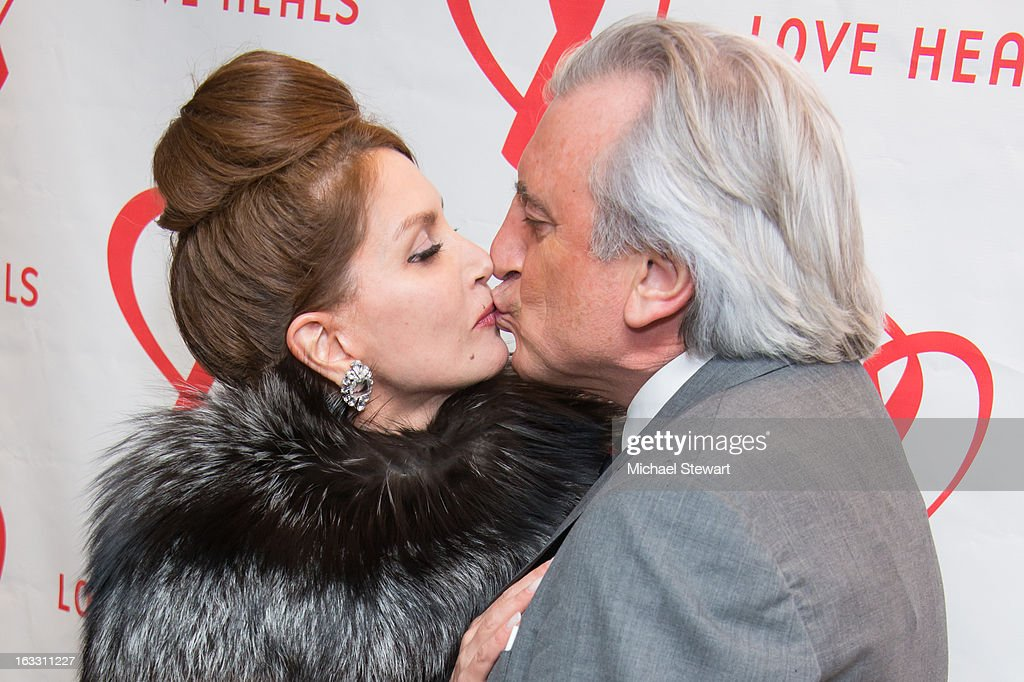 Jean Shafiroff (L) and Julian Niccolini attend the 2013 Gala By Love Heals at The Four Seasons Restaurant on March 7, 2013 in New York City.