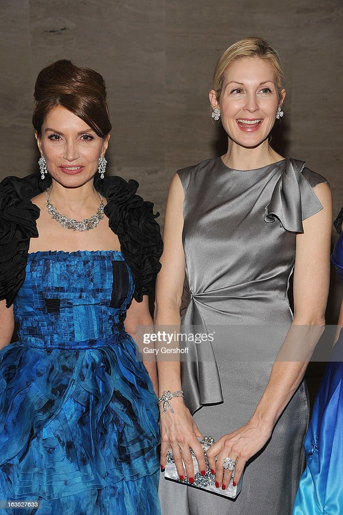 Jean Shafiroff (L) and Kelly Rutherford attend the 2013 School Of American Ballet Winter Ball: A Night In The Far East at David H. Koch Theater, Lincoln Center on March 11, 2013 in New York City.