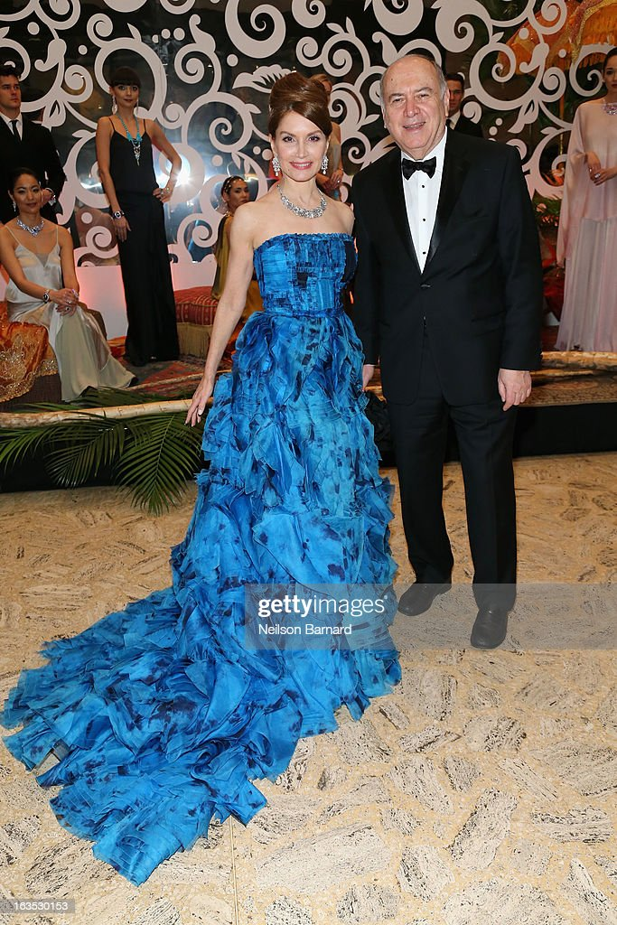 Jean Shafiroff and Martin Shafiroff attend the School of American Ballet 2013 Winter Ball at David H. Koch Theater, Lincoln Center on March 11, 2013 in New York City.