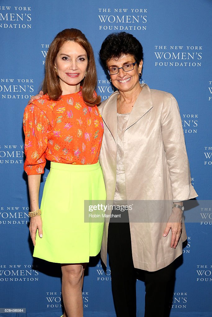 Jean Shafiroff and President & CEO of The New York Women's Foundation Ana L. Oliveira attend The New York Women's Foundation's 2016 celebration womens breakfast on May 5, 2016 in New York City.