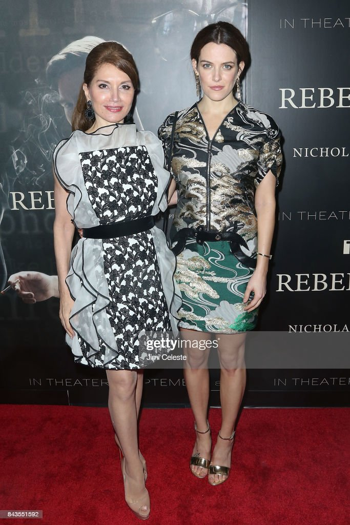 Jean Shafiroff and Riley Keough attends 'Rebel in the Rye' screening and after party hosted by Jean Shafiroff and IFC Films at Metrograph on September 6, 2017 in New York City.