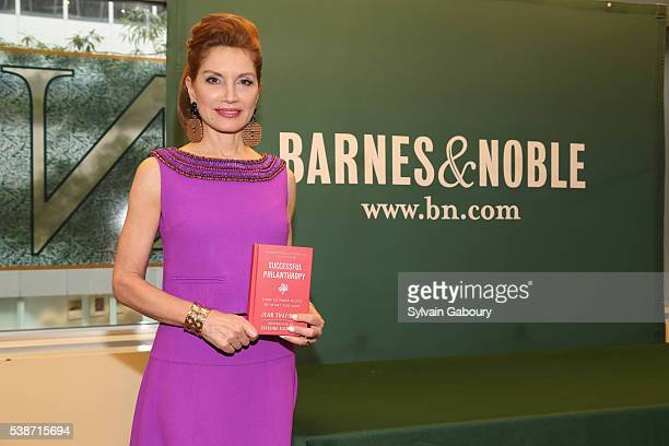 Jean Shafiroff attends a book signing for 'Successful Philanthropy How to Make a Life by What You Give' at Barnes Noble Citigroup Center on June 7...