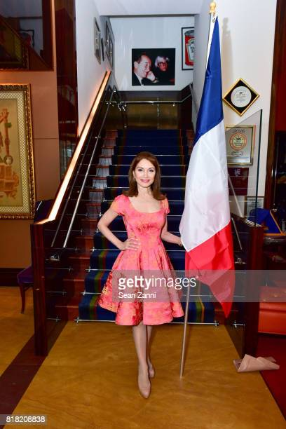 Jean Shafiroff attends Bastille Day Party Hosted by Jean Shafiroff at Le Cirque on July 13 2017 in New York City