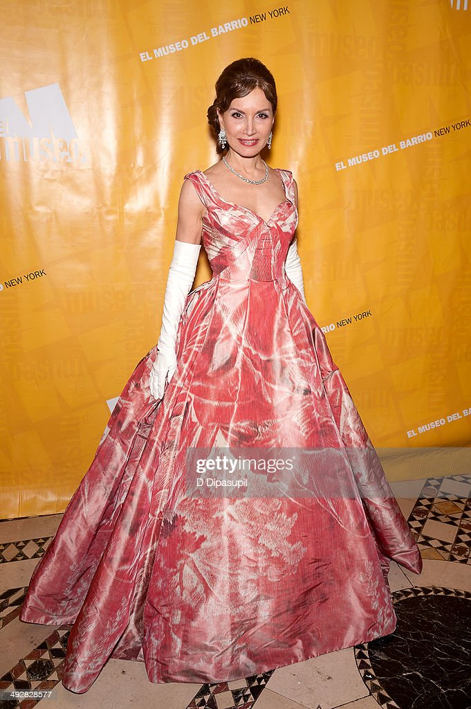 Jean Shafiroff attends El Museo's Gala 2014 at Cipriani 42nd Street on May 21 2014 in New York City