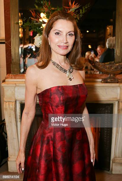 Jean Shafiroff attends her Resident Magazine Cover Celebration at Chelsea Station on August 24 2016 in New York City