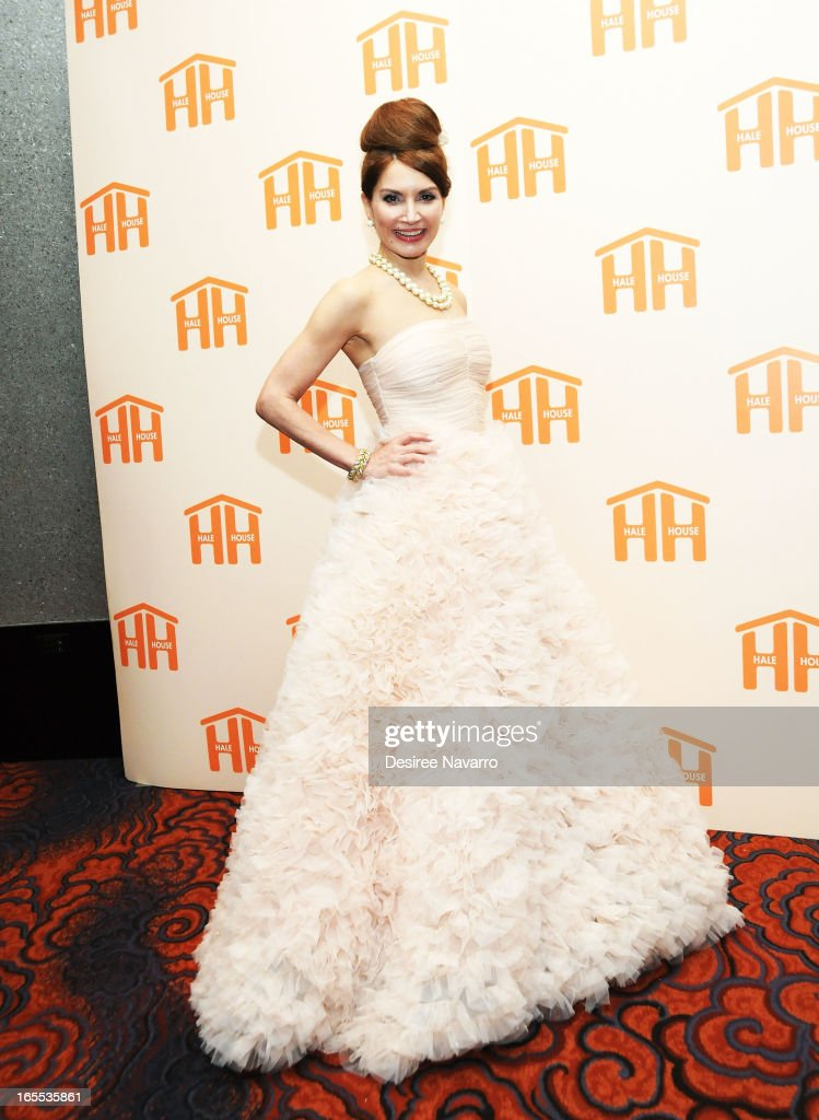 Jean Shafiroff attends the 2013 Hale House Spring Gala at Mandarin Oriental Hotel on April 3, 2013 in New York City.