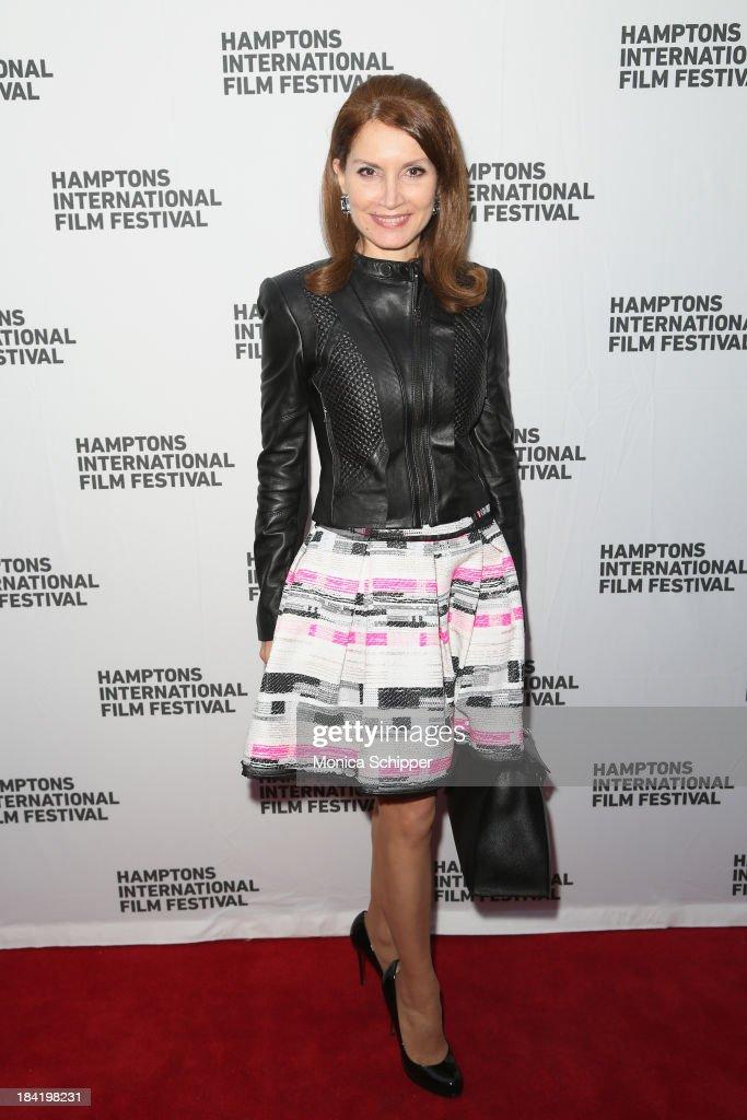 Jean Shafiroff attends the 21st Annual Hamptons International Film Festival on October 11, 2013 in East Hampton, New York.