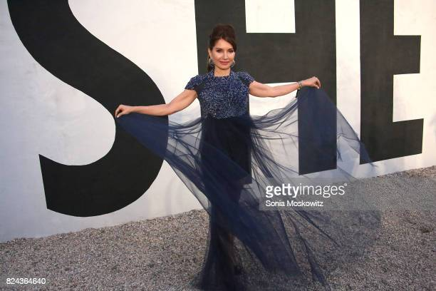 Jean Shafiroff attends the 24th Annual Watermill Center Summer Benefit and Auction at The Watermill Center on July 29 2017 in Water Mill New York