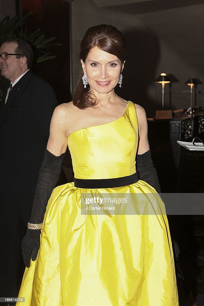Jean Shafiroff attends the Casita Maria's 2013 Fiesta gala at Mandarin Oriental Hotel on October 22, 2013 in New York City.