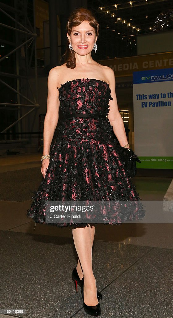 Jean Shafiroff attends the East Side House Gala Preview during the 2014 New York Auto Show at the Jacob Javits Center on April 17, 2014 in New York City.