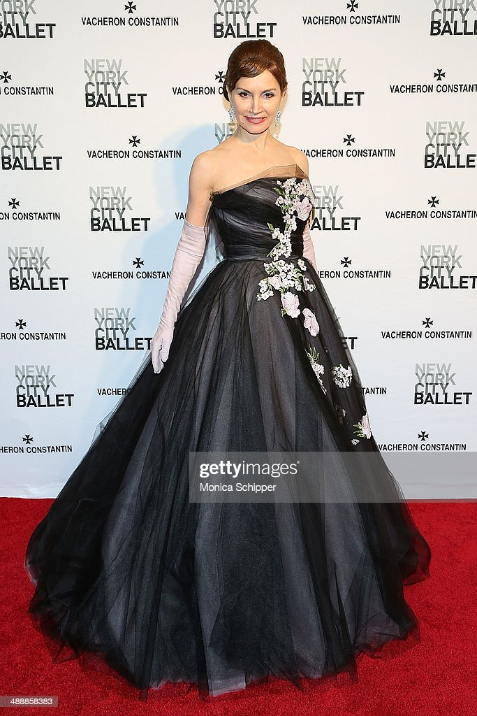 Jean Shafiroff attends the New York City Ballet 2014 Spring Gala at David H Koch Theater Lincoln Center on May 8 2014 in New York City