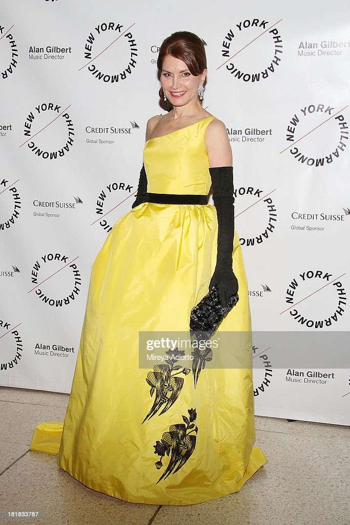 Jean Shafiroff attends the New York Philharmonic 172nd Season Opening Night Gala at Avery Fisher Hall Lincoln Center on September 25 2013 in New York...