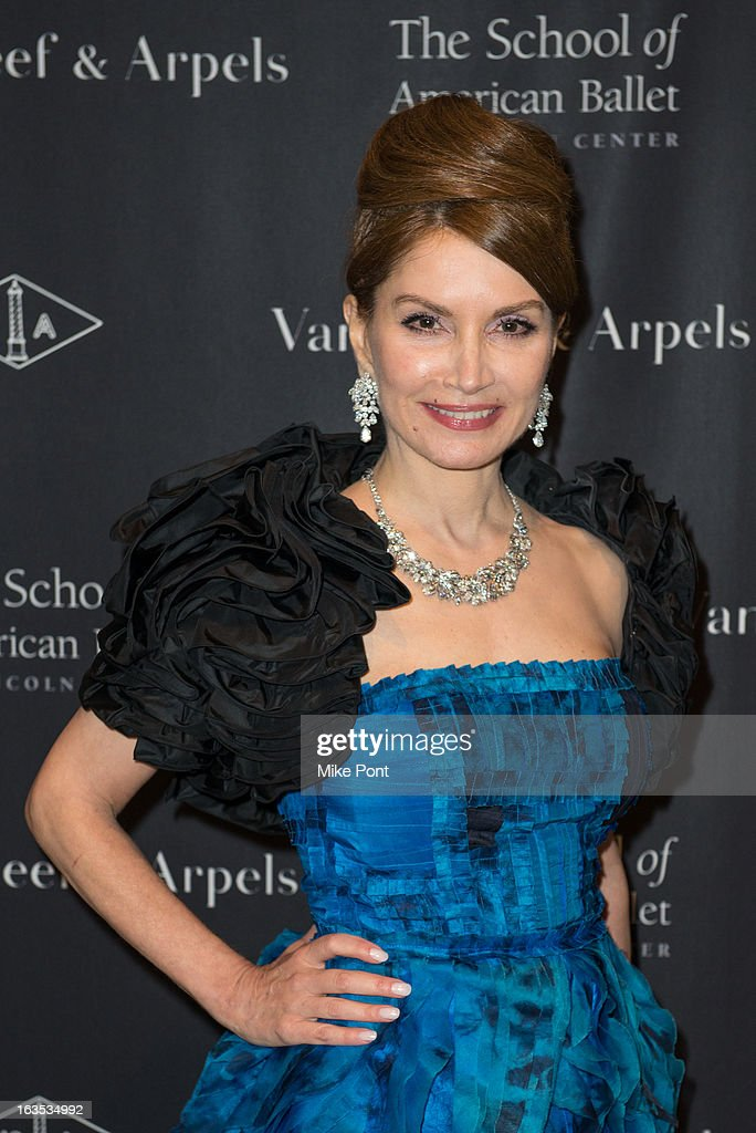 Jean Shafiroff attends the School of American Ballet 2013 Winter Ball at David H. Koch Theater, Lincoln Center on March 11, 2013 in New York City.