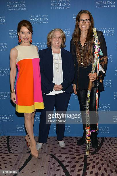 Jean Shafiroff CWB honorees Roberta Kaplan and Catherine Gund attends The New York Women's Foundation Celebrating Women Breakfast at Marriott Marquis...
