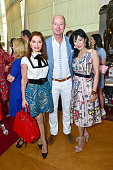 Jean Shafiroff Prince Dimitri of Yugoslavia and Patricia Shiah attend Bastille Day Party Hosted by Jean Shafiroff at Le Cirque on July 14 2016 in New...