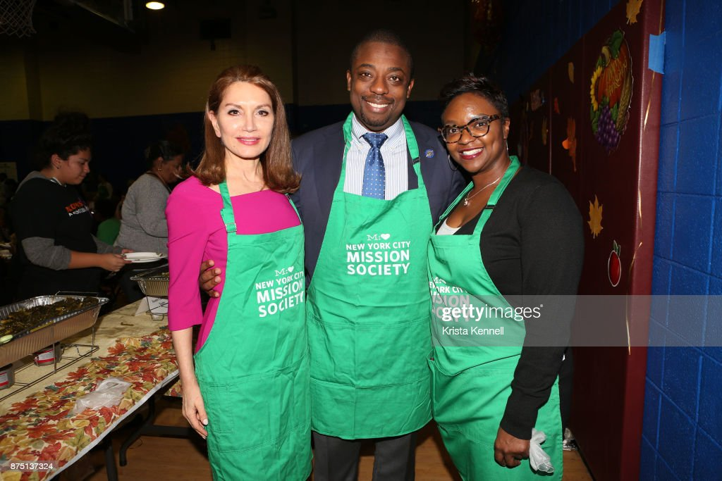 NYC Mission Society's 14th Annual Thanksgiving Harvest Community Dinner