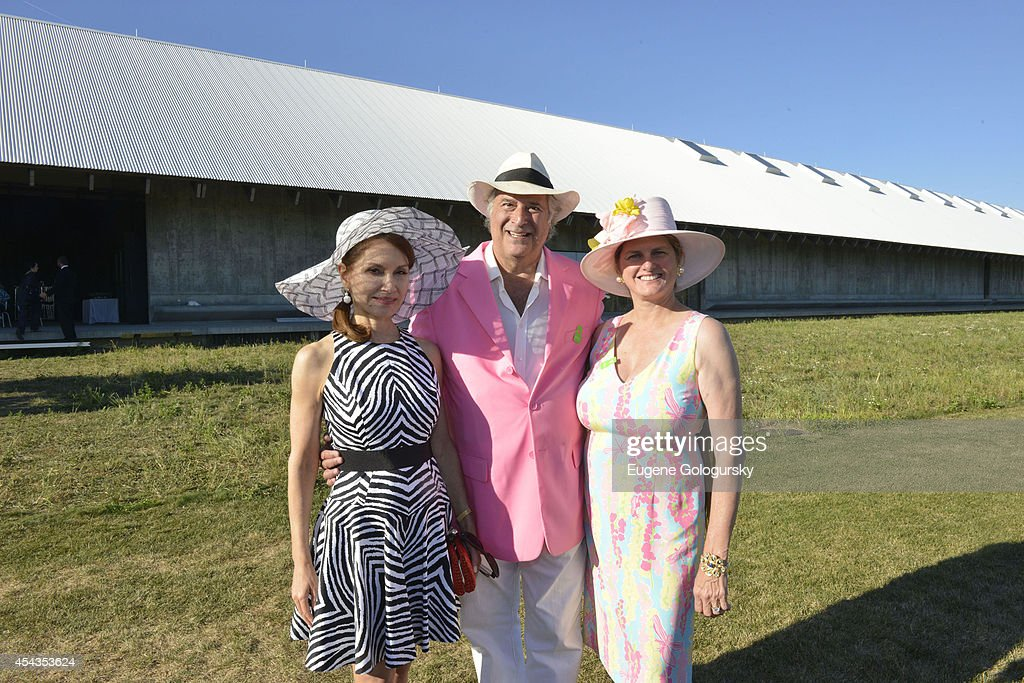 Jean Shafiroff, Stewart F.Lane and Bonnie Comley attend the Naming Celebration For Stewart F. Lane & Bonnie Comley Event Lawn at the Parrish Art Museum on August 29, 2014 in Water Mill, New York.
