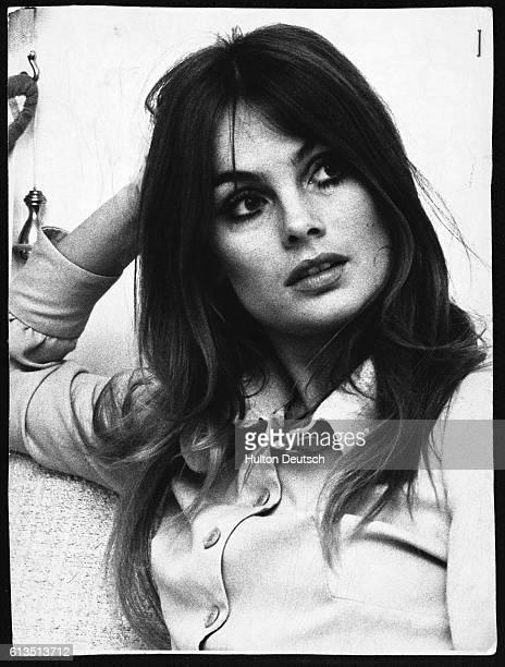 Jean Shrimpton the English fashion model and international figure of the 1960s