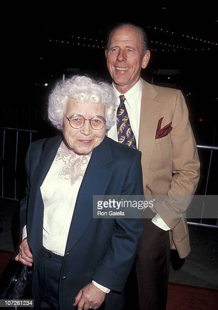 Jean Speegle Howard and Rance Howard during Industry Screening of 'The Paper' March 16 1994 at Cineplex Odeon Cinemas in Century City California...