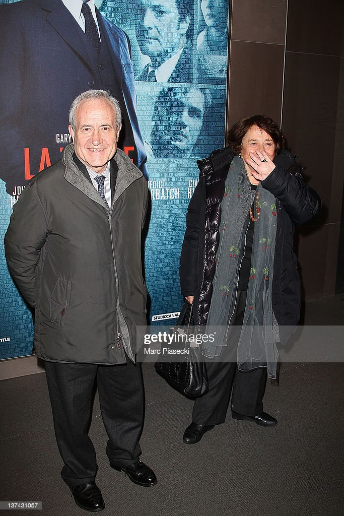 <a gi-track='captionPersonalityLinkClicked' href=/galleries/search?phrase=Jean+Tiberi&family=editorial&specificpeople=2365255 ng-click='$event.stopPropagation()'>Jean Tiberi</a> and his wife Xaviere attend the 'Tinker Tailor Soldier Spy' photocall on January 20, 2012 in Paris, France.