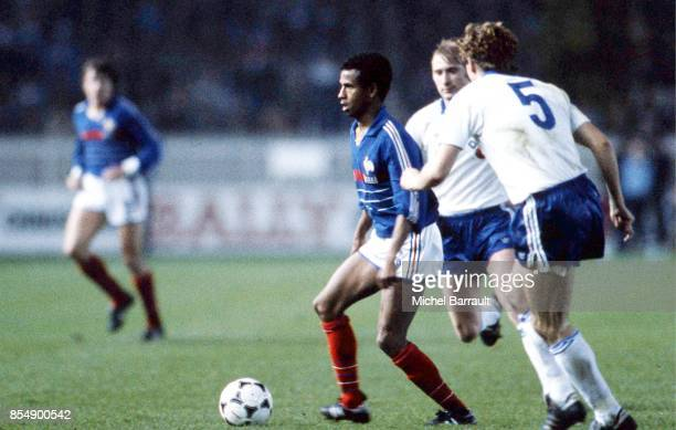 Jean TIGANA France / Republique Democratique Allemagne Eliminatoires Coupe du Monde 1986