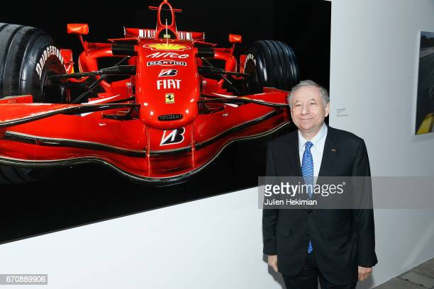 Jean Todt attends 'Auto Photo' Exhibition Preview at Fondation Cartier on April 18 2017 in Paris France