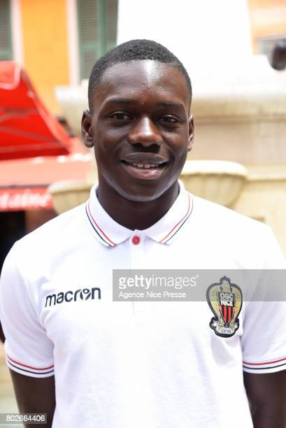 Jean Victor Makengo of Nice during fan's meeting with new players of OGC Nice on June 28 2017 in Nice France