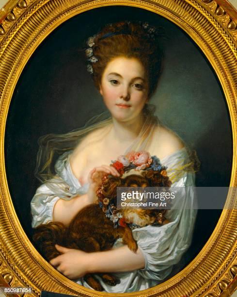 JeanBaptiste Greuze Portrait of Madame de Porcin Oil on canvas 072 x 057 m Angers Fine Art Museum