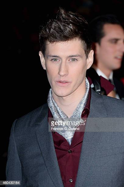 JeanBaptiste Maunier arrives at the 16th NRJ Music Awards at Palais des Festivals on December 13 2014 in Cannes France